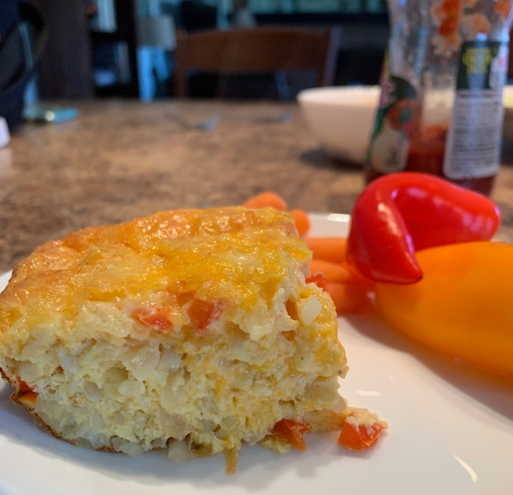 Hashbrown Egg Bake